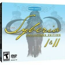 Syberia 1 & 2 Collector's Edition (PC-DVD) BRAND NEW SEALED