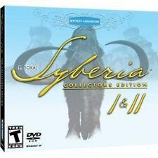 SYBERIA 1 y 2 Edición Coleccionista (PC-DVD) Nuevo Sellado