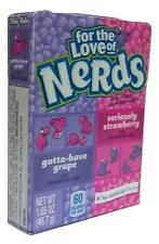 Wonka For The Love Of Grape And Strawberry Nerds 46.7g American Sweets - New
