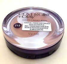 NEW - CoverGirl & Olay Simply Ageless Foundation  SPF 22 - 215 Natural Ivory