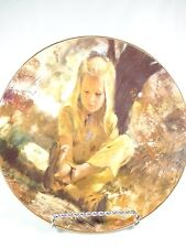 Vintage plate Precious Moments Collection Thornton Utz Sand in her Shoe 1979