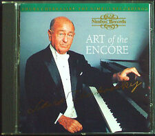 Shura Cherkassky: ART of the Encore CHOPIN LISZT Schubert Impromptu Nimbus CD 95