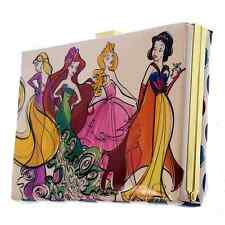 Disney Parks Runway Princess Hard Clutch Purse Designer Rapunzel Ariel Aurora