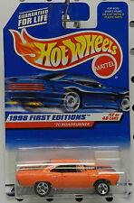 1998 1970 PLYMOUTH ROADRUNNER ORANGE 1ST EDITION MOPAR GTX 70 426 HW HOT WHEELS