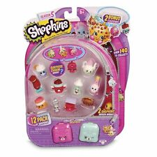 Shopkins Season 5 - 12 Pack Collectable Figures Series 5, FREE EXPRESS DELIVERY