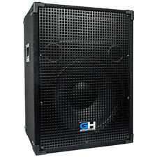 800W 15 Inch Passive PA System Loud Speaker for Band DJ Karaoke Church Events