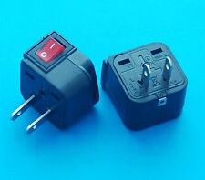 Wonpro Universal UK EU AUS to USA Japan Canada Travel AC Power Plug Adapter New