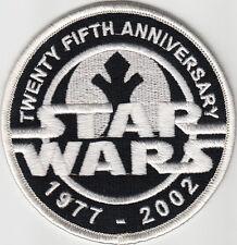 PARCHE STAR WARS 25 aniversario 25th ANNIVERSARY 7CMS      PATCH