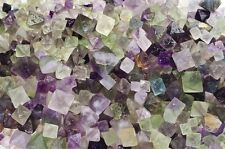 3 Pounds Unpolished Fluorite Octahedron Crystals - Wire Wrapping, Reiki, Wicca