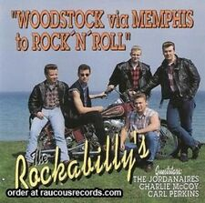 THE ROCKABILLYS Woodstock Via Memphis CD new Carl Perkins rockabilly