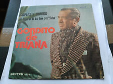 SINGLE GORDITO DE TRIANA - COPLAS Y VERDAD - BELTER SPAIN 1976 VG+