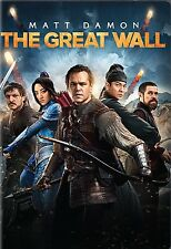 The Great Wall (DVD, 2017) Preorder-Release Date 5/23