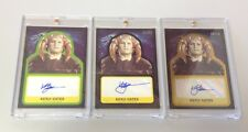 STARS WARS JOURNEY TO THE FORCE AWAKENS KENJI OATES GOLD/SILVER/BASE AUTOS