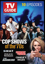 TV GUIDE SPOTLIGHT: COP SHOWS OF THE '70S NEW DVD,free shipping