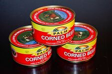 PALM CORNED BEEF WITH JUICES 11.5 oz/326g Product of New Zealand  Lot of 4