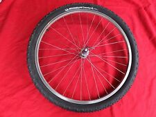 "FRONT WHEEL CARBON HUB 26"" WEINMANN RIM/V-BRAKE TIRE PACE RACE LITE NUKEPROOF XC"