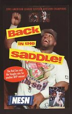 Mo Vaughn--1996 Boston Red Sox Schedule--NESN/Continental Cablevision