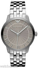 Emporio Armani AR1620 Classic Silver Dial Stainless Steel Women's Watch