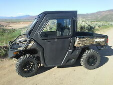 Can Am Defender Cab Enclosure with Tip out Windshield & Doors
