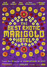 The Best Exotic Marigold Hotel Judi Dench BLU-RAY
