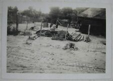 Lot of 5 Dec 1945 WW11 Photos after The Explosion Okinawa Japan
