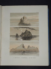 ST. KILDA: Past and Present / Scottish Isles / Scotland / Hebrides / Plates 1888