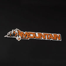 Aluminum Alloy Foil Mountain Emblem Decal Badge Side Sticker for Jeep Compass