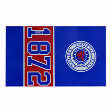 RANGERS FC SINCE ESTABLISHED FLAG CREST WINDOW BANNER 5 x 3 NEW GIFT XMAS