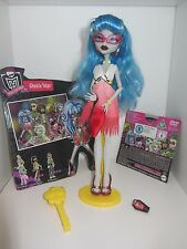 Monster High Puppe Ghoulia Yelps Dawn of the Dance komplett TOP