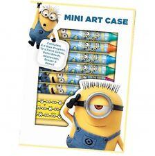 Despicable Me Les Minions Cas D'art Mini Jeu De Coloriage Papeterie Neuf Cadeau