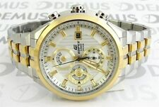 IMPORTED CASIO EDIFICE STEEL AND GOLD MEN'S CHRONO EF-556SG-7AVDF