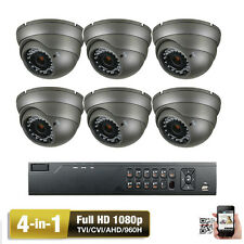 8CH Network DVR 1080P Sony CMOS CCD 4-in-1 AHD 2.6MP OSD Security Camera System