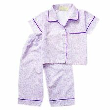 Woven Button Down Floral Print #1070,Pajama Set, (XL 6-8 years old) PayPal
