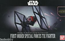 Bandai 1/72 Scale Model Kit Star Wars First Order Special Forces Tie Fighter