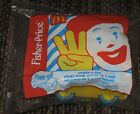 1996 Fisher Price McDonalds Happy Meal Under 3 Toy - Bus