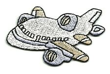"""Airplane - Plane -  Embroidered 2 1/4""""W (5.7cm) Iron On Patch"""