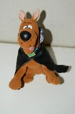 "CUTE Vintage Halloween Dracula Black Cape Scooby-Doo 9"" Stuffed Plush Animal Toy"