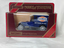 Matchbox - Models of Yesterday Y - 5 - 1978 - 1927 Talbot Van EverReady red box
