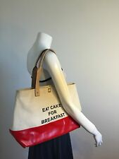 Kate Spade Eat Cake For Breakfast Set: Call To Action Tote & Gia Pouch GUC