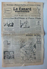 ANCIEN JOURNAL -  LE CANARD ENCHAINE N° 1798 DU 6 AVRIL 1955 *