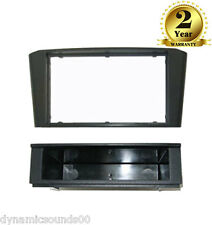 FP-11-17 Black Single / Double Din Fascia Panel For Toyota Avensis T25 2003-2008