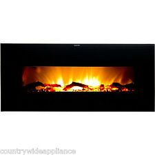 """Warm House Valencia 50"""" Wide Screen Wall Hanging Electric Fireplace VWWF-10306"""