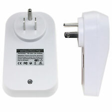 Smart WiFi Remote Control Timer Switch Power Socket US Plug for iPhone& Samsung