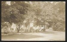 REAL PHOTO Postcard KIDDERS New York/NY  U.S. Hotel Coleman House view 1907