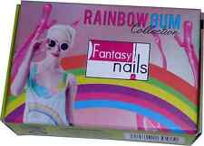 Fantasy Nails Sinaloa - Rainbow Gum  Acrylic Powder - set of 6 - Bubble gum
