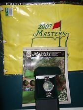 The Master's Golf 2007 Package-Watch, Authentic Flag, Official Program