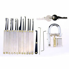 12X Padlocks Lock Cutaway Inside View Practice Lock Pick Locksmith Training