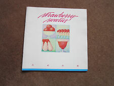 Rare Fruit Cookbook Strawberry Sweeties 1984 Yummy Recipes LOOK! sorbet, soup