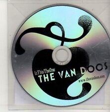 (CU552) The Van Doos, Is This The One - 2011 DJ CD