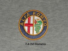 Alfa Romeo Car Motor sport Embroidered iron/ Sew on Logo Clothing Patch - Badge